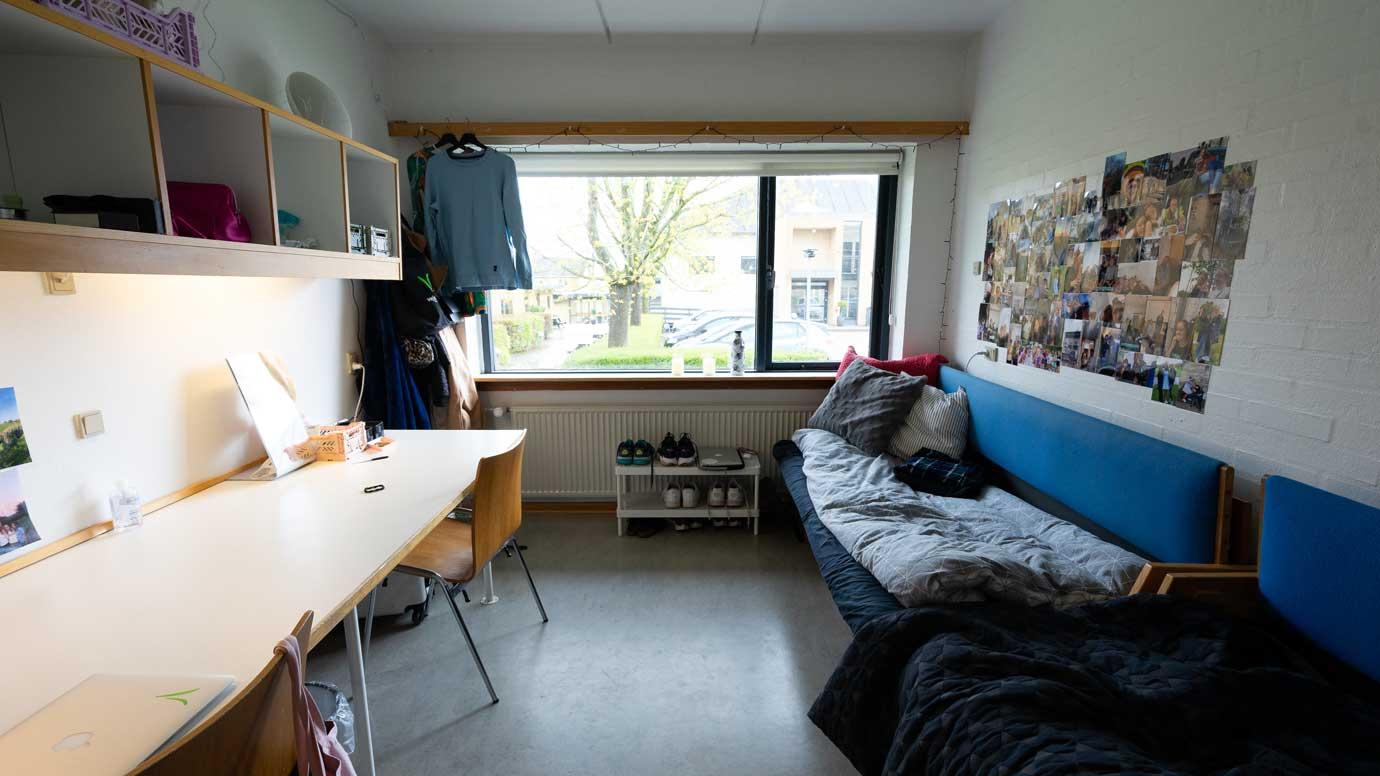 værelse på Vejstrup Efterskole