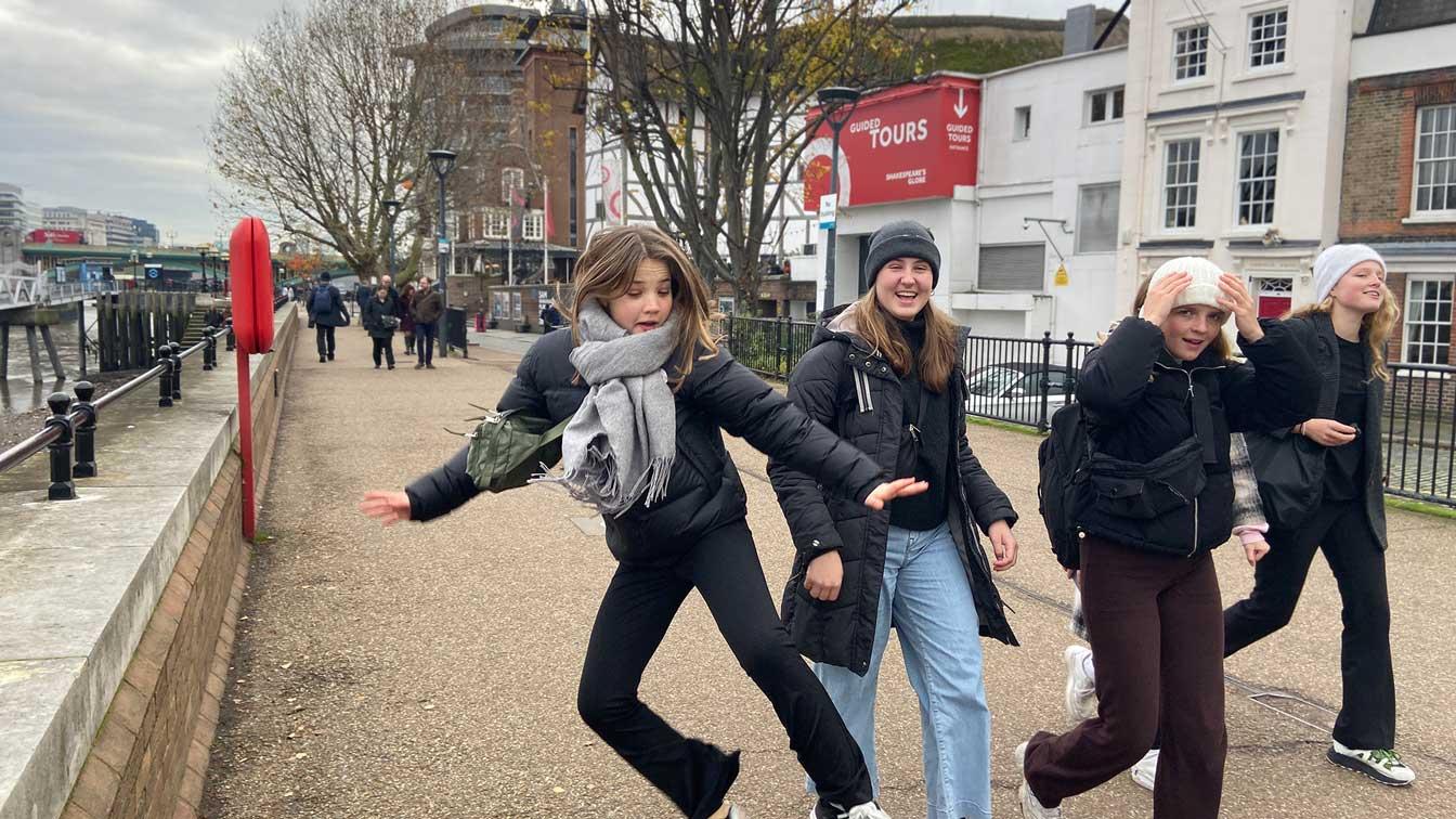 Vejstrups elever på studietur i Europa